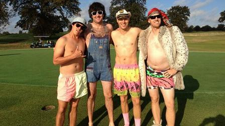 The Golf Boys 2013. Foto: Bubba Watson Twitter