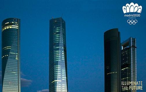 Rascacielos en donde se encuentra el Hotel Eurostars de Madrid. Foto: Madrid 2020