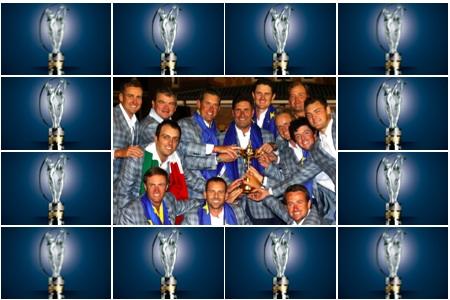 laureus y equipo Ryder 2012