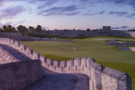 China estrenará el campo de golf más increíble y fantasioso del mundo (VER VÍDEOS)