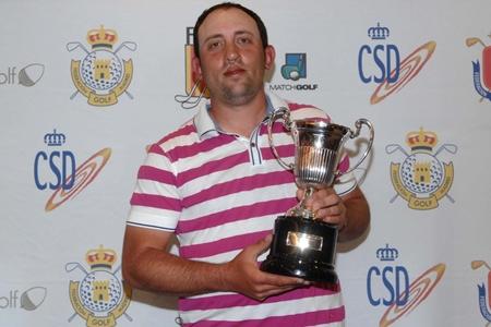 Francois Calmels, campeón del Challenge de Madrid. Foto: Luis Corralo