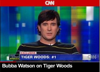 Bubba Watson, entrevistado por la CNN