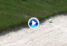 El golpe del día en el PGA Tour para el líder, Lucas Glover (VÍDEO)