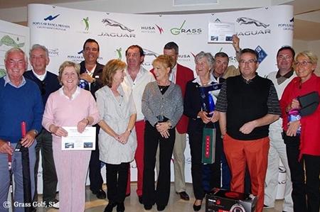 El Circuito Grass Golf 2013 arrancó en el RCG Las Brisas