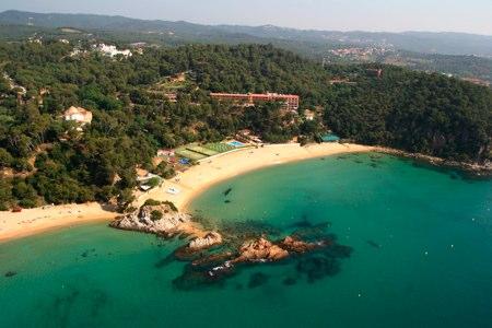 Hotel Santa Marta, en Lloret de mar. Foto: patronato Turismo Girona Costa Brava