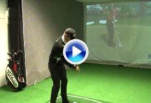 Jamie Donaldson preparó Augusta en un simulador y con Tiger Woods (VIDEO)
