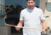 Regalan un 'putter' Ryder Cup artesano a Olazábal en El Parador de El Saler
