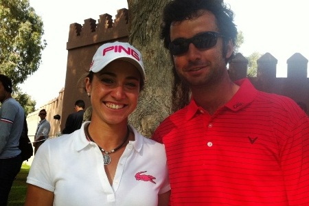 Marta Silva y Alex Larrazábal
