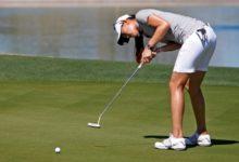 Michelle Wie patenta una nueva forma de ponerse al putt