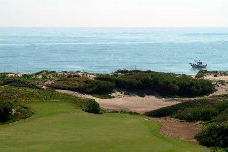 Mar, dunas... Y un campazo de golf en El Saler