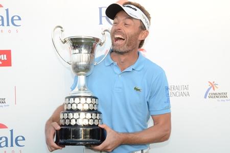 Raphael Jacquelin Campeón en El Saler Foto: OpenGolf.es