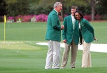 Una maravillosa realidad en Augusta: Rice ya luce su chaqueta de socia