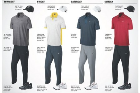 Ropa Tiger Masters 2013