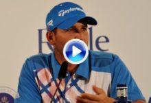 Sergio García: 'Soy fiel a mí mismo, para lo bueno y lo malo' (VIDEO)