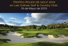 Las Colinas acoge el trofeo Rolex 2013 (19 mayo)