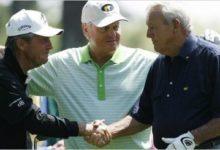 Palmer, Player y Nicklaus inauguraron el Masters 2013