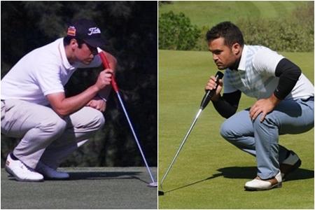 Adrián Otaegui y Carlos Aguilar