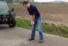 Luke Bielawski: El Forrest Gump del golf: 2.500 kms. dando bolas