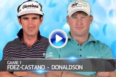 Gonzalo Fdez.-Castaño y Jamie Donaldson