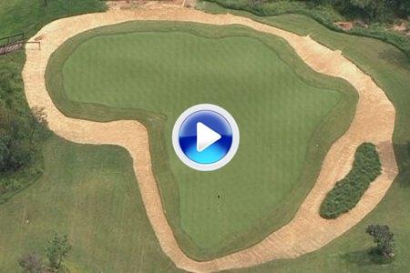 """Un par tres 'extreme' de 400 metros de largo. El tiempo de vuelo de la bola es de 20"""" (VIDEO)"""