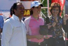 Mireia Prat estrenó su palmarés 'pro' en el 8 Ladies Open de Lugo