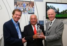 El Europ.Tour homenajea a Ángel Gallardo en Wentworth