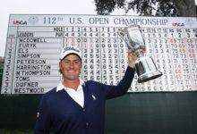 Webb Simpson, defiende el título conseguido en el Olympic Club de San Francisco