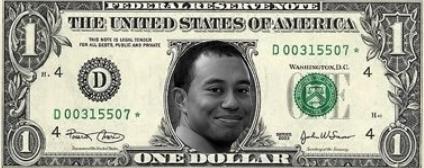 Woods baja del nº3 al 5 en la lista de los 50 deportistas mejor pagados en EE.UU.