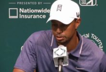 Woods zanja el tema con García: 'Ya se acabó todo'