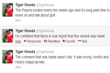 Tiger Woods Tweets