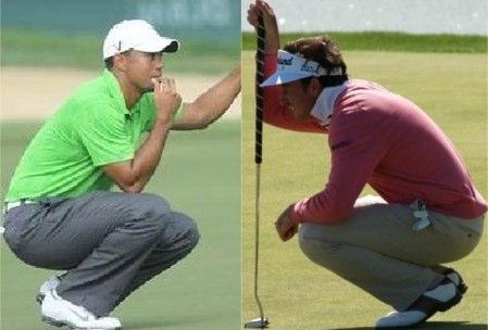 Tiger Woods y Gonzalo Fdez.-Castaño