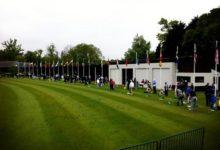 Las banderas ya ondean en el Wenworth Club