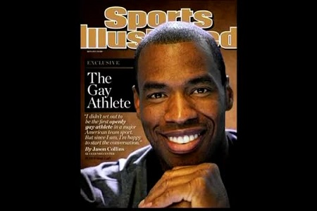 Jason Collins, portada de la revista Sports Ilustrated