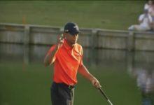 Tiger reivindicó su rojo en el rosado The Players; Sergio García, ahogado en el 17