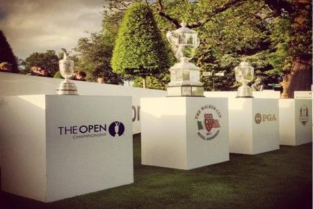 trofeos en el PGA de Wentworth