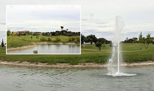 Golf Valdeluz. Foto web Ayuntamiento de Yebes