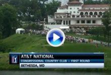 VÍDEO: Resumen de la 1ª Jornada del AT&T National en el Congressional