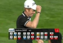Andrew Dodt, primero que logra dos hoyos en uno en la misma ronda en el Europ. Tour (Masters de Suecia)