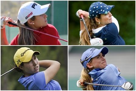 Azahara Muñoz, Beatriz recari, Carlota Ciganda y Belén Mozo