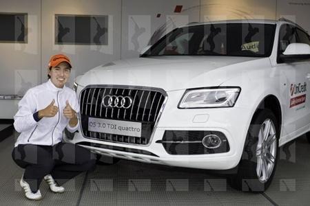 A Carlota Ciganda le espera un coche de lujo en el German Open