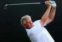 Colin Montgomerie debutó bajo par (69) en el Tour Sénior
