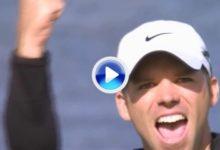 VÍDEO: Este dramático eagle sirvió para que Paul Casey se hiciera con el Irish Open