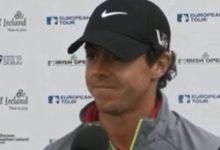 Rory McIlroy firmó 74 golpes en el Open de Irlanda: 'Siento que estoy perdido'