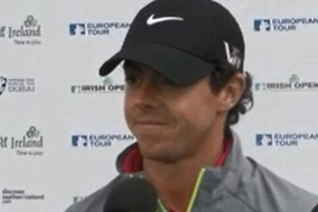 Rory McIlroy en el Irish Open