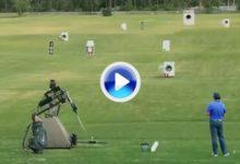 VÍDEO: McIlroy se enfrenta a un robot y a su niñez