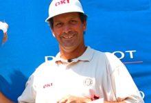 Los veteranos arropan a Santi Luna en el Handa PGA Sénior