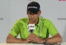 Sergio García: 'Le he dejado a Tiger una nota en su taquilla'