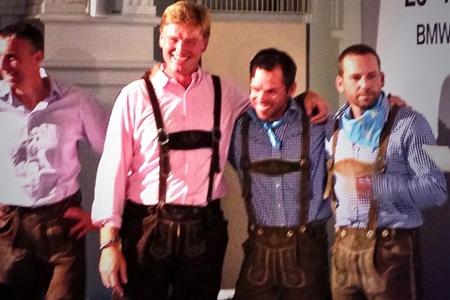 Sergio García, Paul Casey y Ernie Els. Foto: European Tour