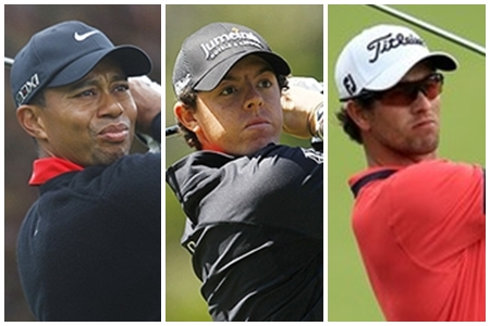 Tiger, McIlroy y Scott