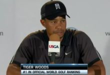 """Tiger Woods: """"Sergio se acercó, me dijo hola y eso fue todo"""""""